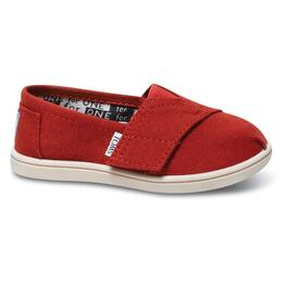 Toms Toddler's Tiny Classic Canvas Slip-on Shoes