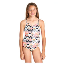 Billabong Girl's Zigginz One Piece Swimsuit