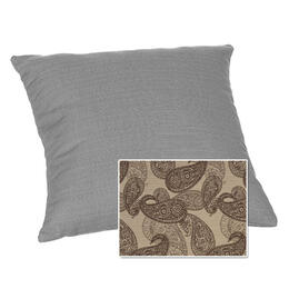 Casual Cushion Corp. 15x15 Throw Pillow - Bangladesh Birch