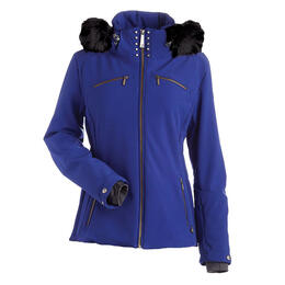 Nils Women's Karen Insulated Hip Length Faux Fur Ski Jacket
