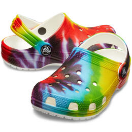 Crocs Kids' Classic Tie Dye Clogs