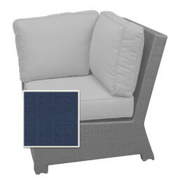 North Cape Cabo Sectional Corner Chair Cushions - Indigo w/ Dove Welt