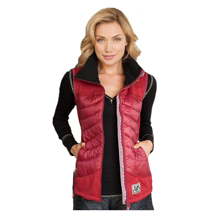 Apl-n-rock Women's Autumn Blaze Vest
