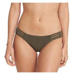 Billabong Women's No Hurry Lowrider Bikini Bottoms