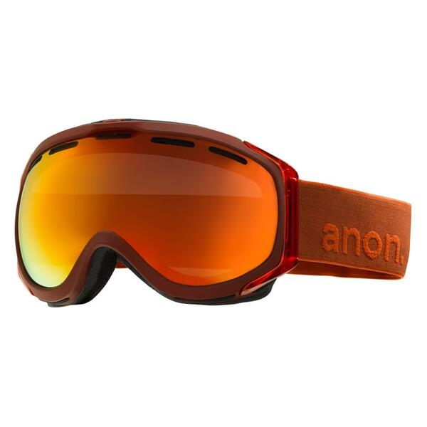 Anon Men's Hawkeye Goggles with Red Solex Lens
