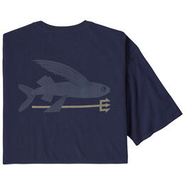 Patagonia Men's Flying Fish Organic Cotton T Shirt