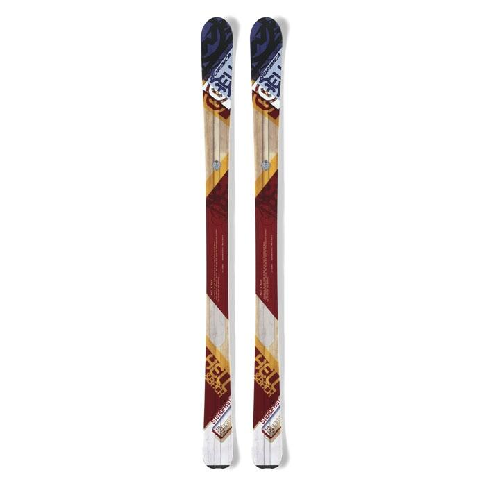 Nordica Men's Steadfast All Mountain Skis '14 - Flat