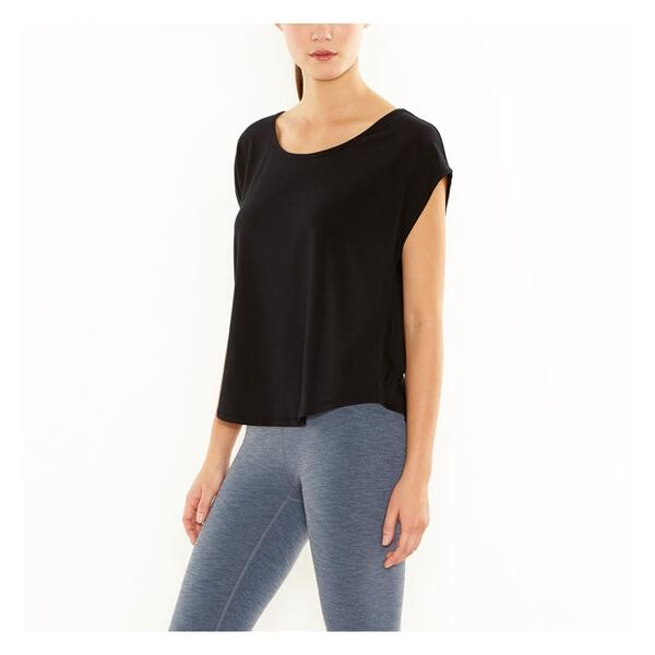 Lucy Women's Perfectly Posed Short Sleeve Top