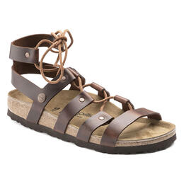 Birkenstock Women's Cleo Casual Sandals Cognac - Narrow