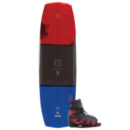 Hyperlite Men's Baseline Wakeboard With Session Bindings '19