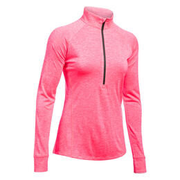 Under Armour Women's Tech 1/2 Zip Twist Long Sleeve Shirt