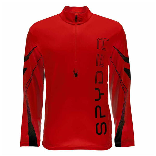 Spyder Men's Powertrack Dry W.E.B T Neck Sh