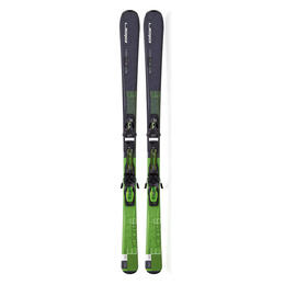 Elan Men's Explore 6 Green All Mountain Skis with EL 10.0 QT Bindings '16