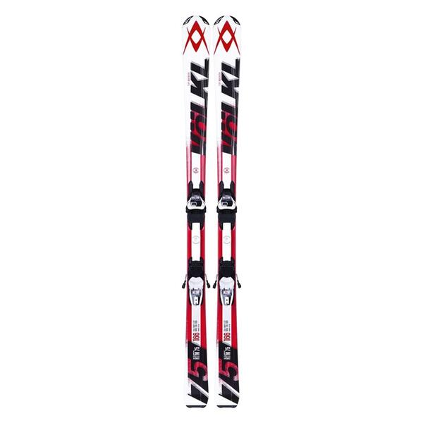 Volkl Men's RTM 75 All Mountain Skis with 4Motion 10 Bindings '14