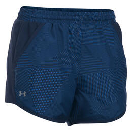 Under Armour Women's Printed Fly-by Running Shorts