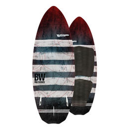 Never Summer Big Woody Wakesurf Board '18