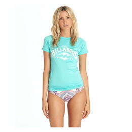 Billabong Women's Luv Lost Short Sleeve Rashguard