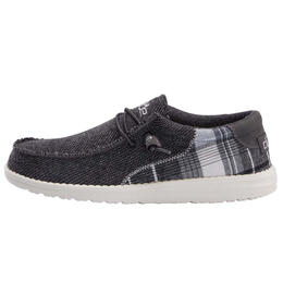 Hey Dude Men's Wally Tartan Shoes