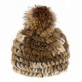 Mitchies Matchings Women's Rabbit Fur Hat