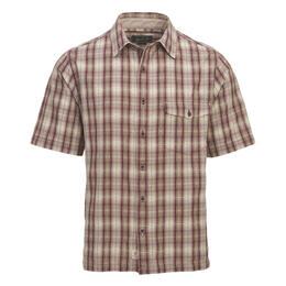 Woolrich Men's Overlook Dobby Eco Rich Short Sleeve Shirt