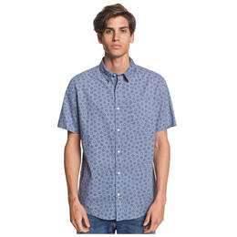 Quiksilver Men's Buck Shot Short Sleeve Shirt