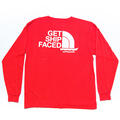 Party Pants Men's Ship Faced Long Sleeve T-Shirt alt image view 3