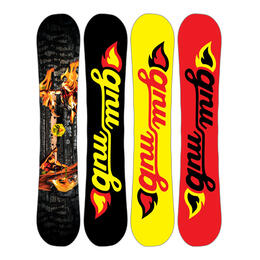 GNU Men's Riders Choice Freestyle/Freeriding Snowboard '17