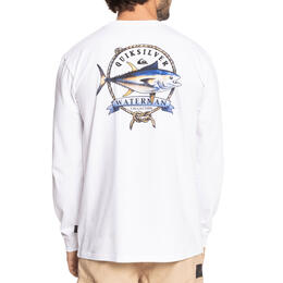 Quiksilver Men's Waterman Stay Tuna Long Sleeve T Shirt