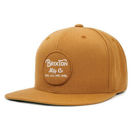 Brixton Men's Wheeler Snapback Hat