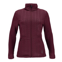 Spyder Women's Major Cable Stryke Sweater Jacket