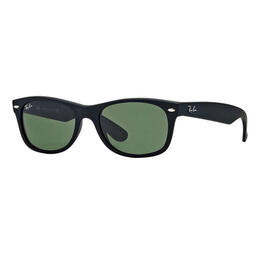 Ray-Ban New Wayfarer Sunglasses With Green Classic G-15 Lenses