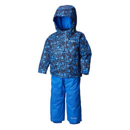Columbia Boy's Buga Infant Snow Set Super Blue