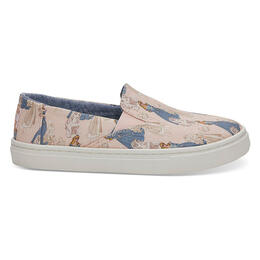 Toms Girl's Luca Sleeping Beauty Slip Ons