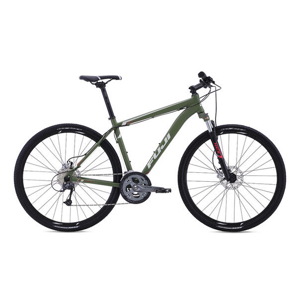 Fuji Traverse 1.3 Disc Hybrid Road Bike '16
