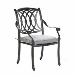 Alfresco Home Lisbon Stackable Dining Arm Chair
