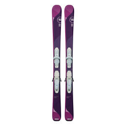 Rossignol Girl's Temptation Pro Skis with Kid-X 4 Bindings '18