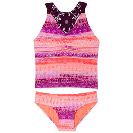 Gossip Girl Boho Sunset Tankini Set