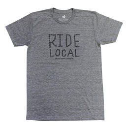 Locally Grown Clothing Men's Ride Local Short Sleeve T Shirt