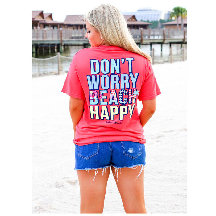 Jadelynn Brooke Women's Beach Happy T-Shirt