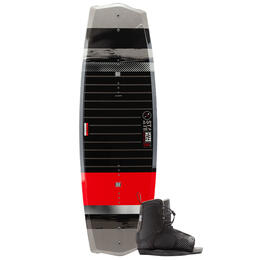Hyperlite Boy's State Jr Wakeboard With Remix Kids Bindings '20