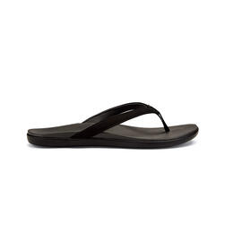 Olukai Women's Ho Opio Casual Sandals Dark Shadow