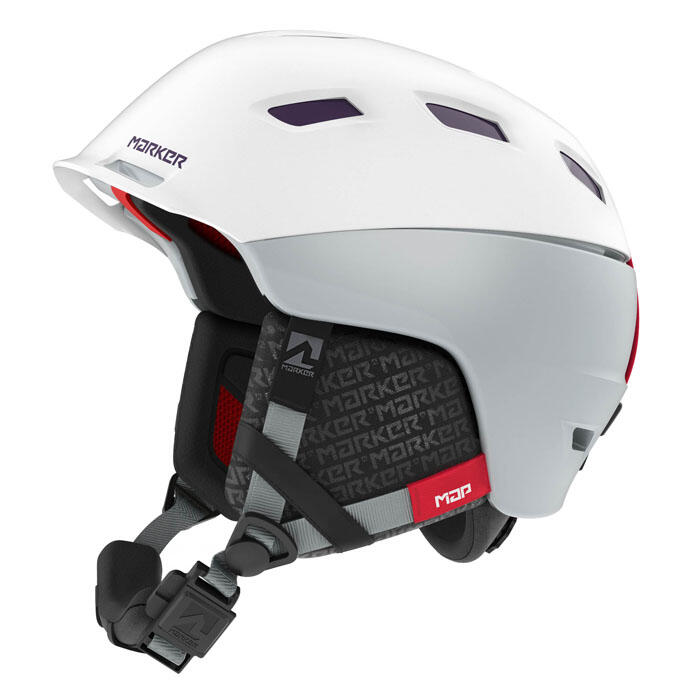 Marker Ampire Map Helmet White