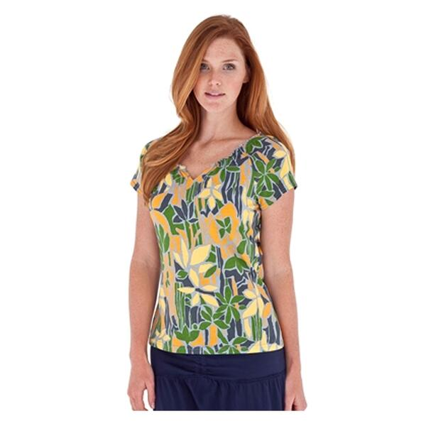 Royal Robbins Women's Stain Glass Cap Sleeve