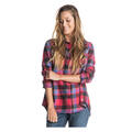 Roxy Women's Campay Long Sleeve Flannel Shi