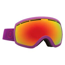 Electric EG2.5 Snow Goggles With Brose/Red Chrome Lens Purple