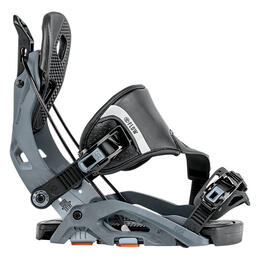 Flow Men's Fuse Snowboard Bindings Gunmetal '18