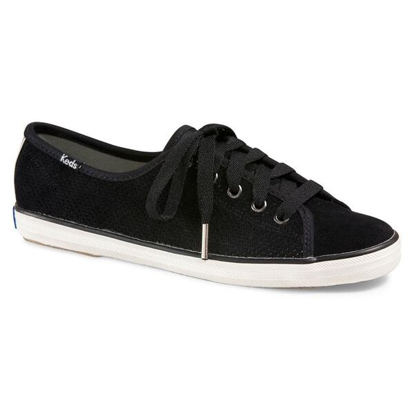 Keds Women's Rally Suede Perf Black Casual Shoes
