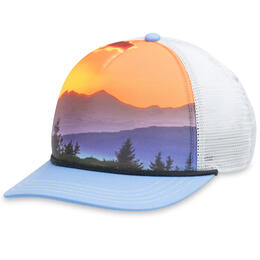 Pistil Designs Women's Matty Mountain Print Trucker Hat