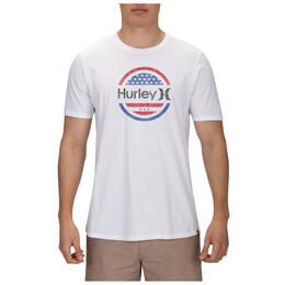 Hurley Men's One and Only Circle Stars T-Shirt