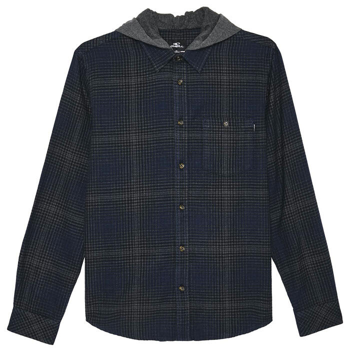 O'Neill Men's Redmond Hooded Flannel Hoodie